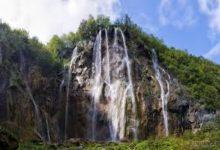 Plitvice-big-waterfall