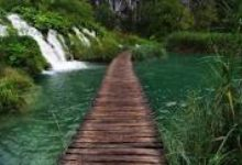 Plitvice-bridge